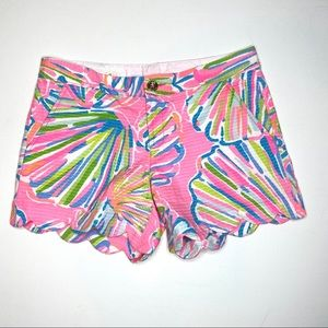Lilly Pulitzer The Buttercup shorts sz 4